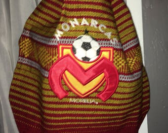 Mexican style Backpack tote Monarcas futbol