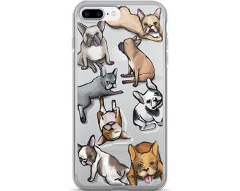 Frenchie iPhone Case, iPhone 6, iPhone 6s, iPhone 7, French Bulldog