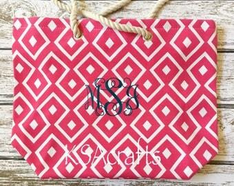 Tote Bag, Beach Bag, Personalized Tote