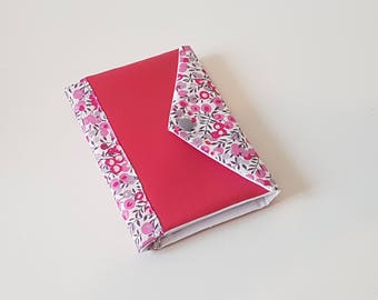 Agenda 2018 Liberty Wiltshire pink and fuchsia leather