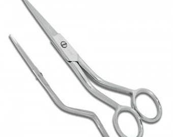 """Double Curved Applique Scissors 6""""in  - 712A - Famore Cultery"""