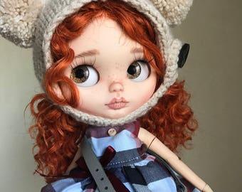 Doll Sold-OOAK blythe doll  by Darya Javnerik