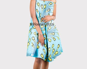 Robe Courte short dress with spaghetti strap, african clothing, african dress, the african shop, africanshop,