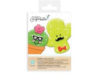 Sugarbelle Cactus Cookie Cutter Set