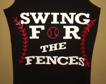 Swing for the fences tank or tee