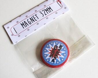 32mm Super Godfather magnet
