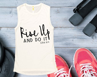 Women's Tank Top - Rise Up,  Workout Clothing