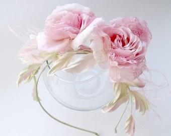 handmade flowers, silk flowers, wedding hair accessories,hair flowers, hair fascinators,vintage hair accessories,Headpiece