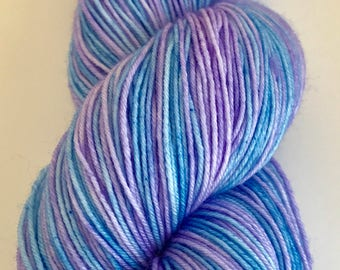 Lazy Days  - Self Striping Hand Dyed Sock/Fingering Weight Yarn 100g