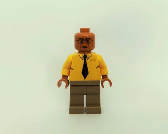 Gustavo Fring From Breaking Bad Custom Minifigure Made From Lego Parts