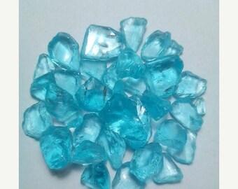 80% OFF SALE 10 Pieces Sky Blue Topaz Rough