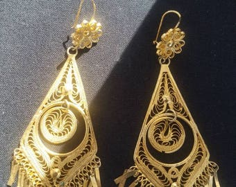 Mexican Gold Filled Earrings