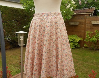 Skirt woman * size 38 / 40 * fully round