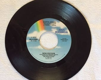 Earth Angel 45 RPM record