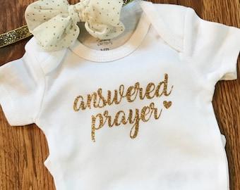 Answered Prayer bodysuit