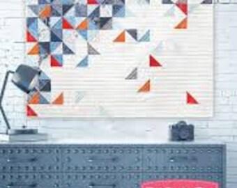 THROWING quilt pattern by Zen Chic Brigitte Heitland