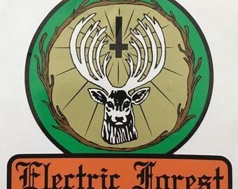 Electric Forest Vinyl Sticker