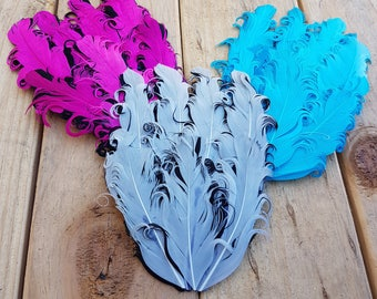 1pc Curly Goose Feathers