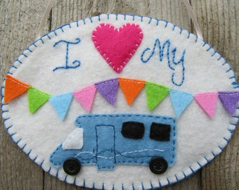 Motorhome decoration, motorhome accessories, wall art, wall hanging, gifts for her, gifts for him, motorhome gifts, motorhome decor