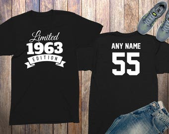 55th birthday gifts for men shirts 55 year old birthday men 1963 birthday shirt birthday gifts for him