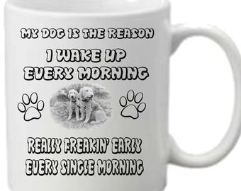 Bedlington Terrier Dog I Wake Up Every Morning