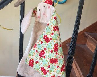 Baby Lovie Handmade Blankie, Baby Girl, Baby Shower Gift