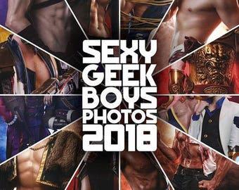 Sexy Geek Boys Cosplay CALENDAR 2018 - Russian Cosplay