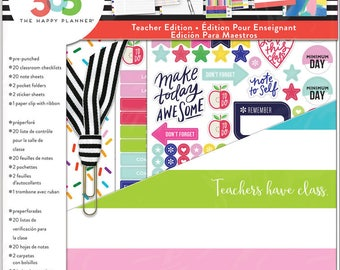 Create 365 Happy Planner Teacher Edition Variety Accessories Pack - Teachers Have Class