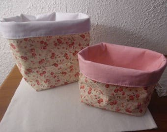 Two baskets for baby's room