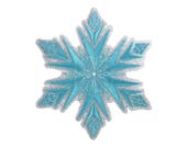 Snowflake Iron On Applique, Genuine Disney Iron On Patch, Frozen Patch, Winter Patch, Frozen Applique, Disney Applique, Kids Patch
