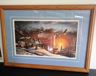 Terry Redlin Limited Edition Signed and Numbered