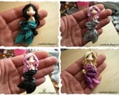 RESERVED for Jennifer M. (Polymer clay Mermaids)