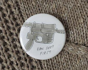 Han Solo button