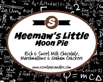 Meemaw's Little Moon Pie, The Big Bang Theory Inspired Soy Candle