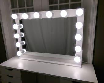 vanity mirror lights etsy. Black Bedroom Furniture Sets. Home Design Ideas