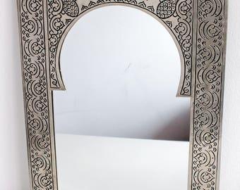 Vintage Moroccan Mirror 'Mystery' - Medium