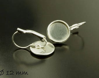 Wires Stainless steel silver for 12 mm Cabochon