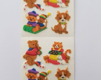 Sandylion Sticker Fabric Christmas