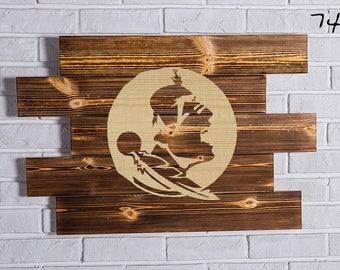 Florida State Seminoles Wood Sign Florida State Seminoles Wall art Florida State Seminoles Gift Florida State Seminoles Birthday