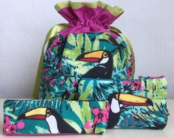 Sock Knitter Set  - Tropical Toucan