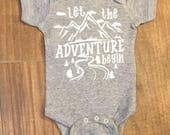 Let the adventure begin Wolf Pack New Member / coming home outfit little boy coming home outfit baby boy new to the pack
