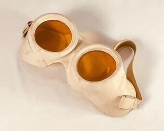 Vintage 1950's Steampunk Welder's Goggles