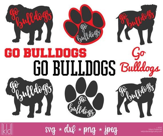 9 Bulldog Svgs Go Bulldogs Bulldog Football High