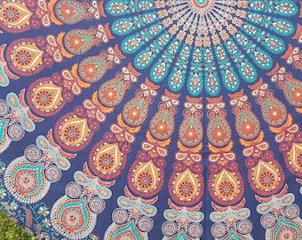 Mandala Tapestry, Mandala Bedding, Boho decor, Boho party Decor, Beach blanket, Dorm room decor, Boho tapestry, Hippie bed, wall tapestry