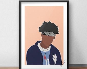 Joey Badass INSPIRED Print / Poster