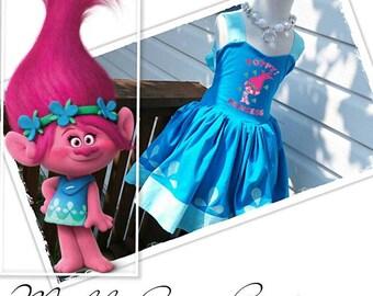 Princess Poppy Troll Dress