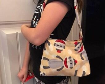 Reversible kids purse