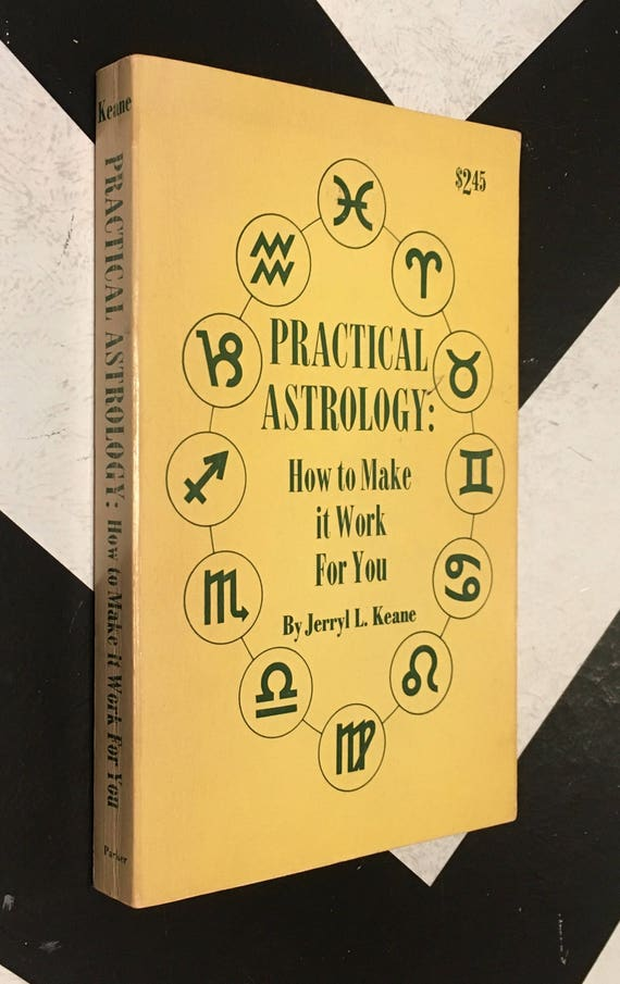 Practical Astrology: How to Make It Work for You by Jerryl L. Keane vintage occult paperback (Softcover, 1971)