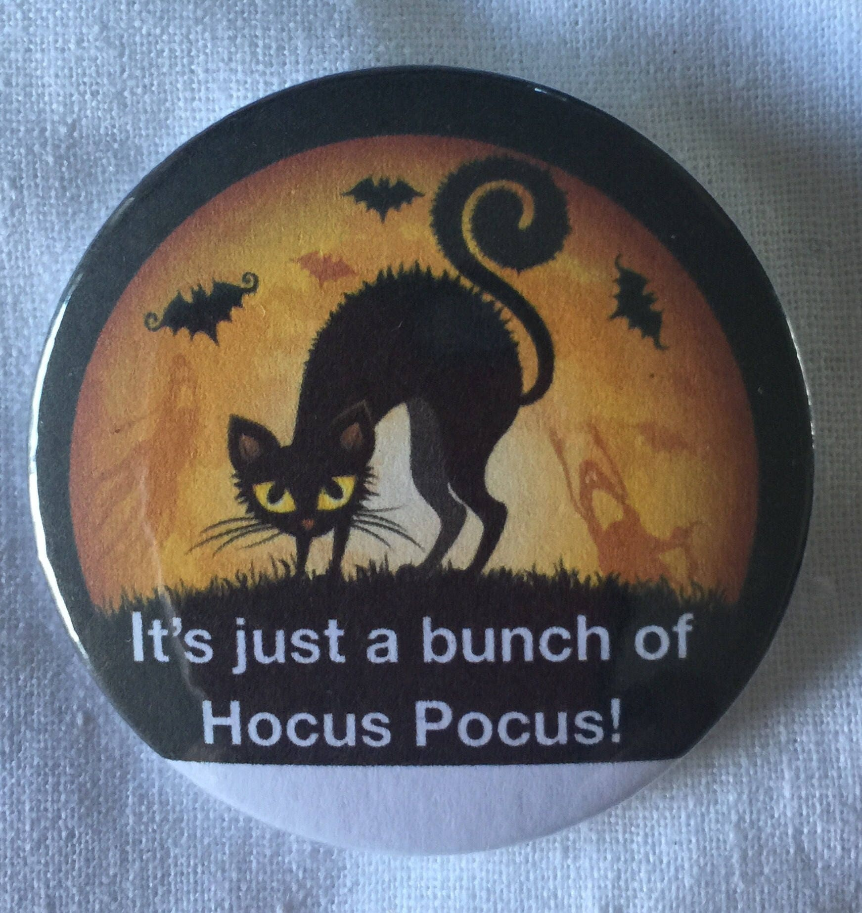 Halloween, Witch, Witchy Poo, Meme, Brooch, Quotes, Badge,