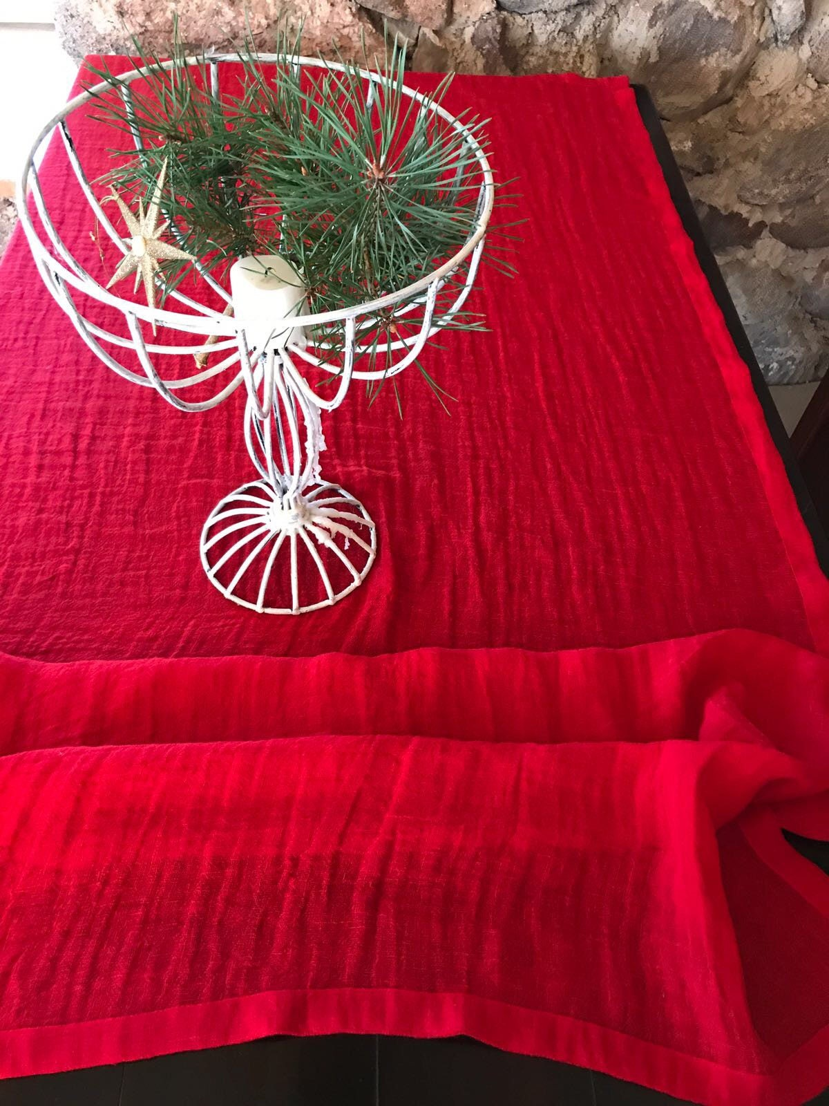 ... Custom Tablecloth, Red Tablecloth. 1